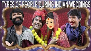 TYPES OF PEOPLE AT INDIAN WEDDINGS | COMEDY VIDEO || MOHAK MEET