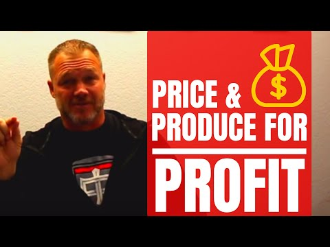 Contractor Business Tips: How To Price And Produce For A Profit