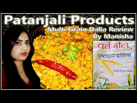, title : 'patanjali Dalia review and recipe|Patanjali pushtahar dalia | Mulit Grain Dalia|Dalia Khichdi Recipe'