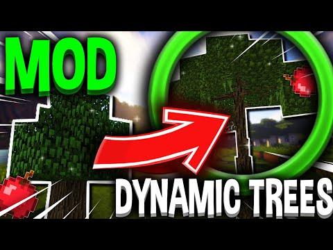 MINECRAFT MOD : Dynamic Trees - [FR] [HD]