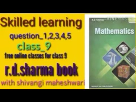 R D Sharma solutions class 9 chapter 1 Number system Example
