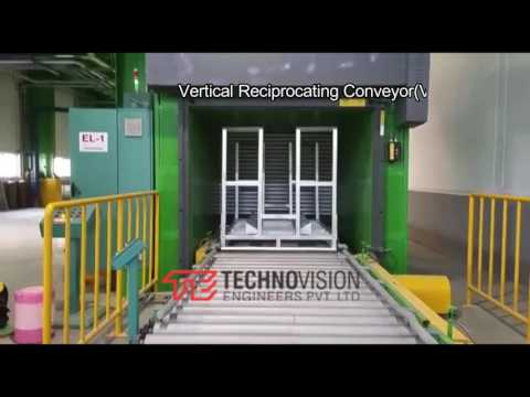 Auto Vertical Reciprocating Conveyor
