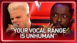 His incredible HIGH NOTES SURPRISE the coaches in The Voice   Journey #76