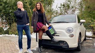 Mariann és a Fiat 500e – újratöltve
