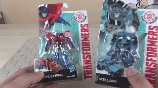 Tрансформеры мини | Trasformers «Robots In Disguise» Legion Class Optimus Prime and SteelJaw