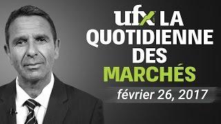UFX Forex Analyse de Marchés février-26-2016
