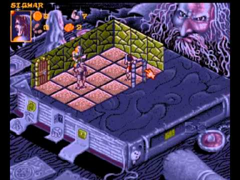 Hero Quest : Return of the Witch Lord Amiga