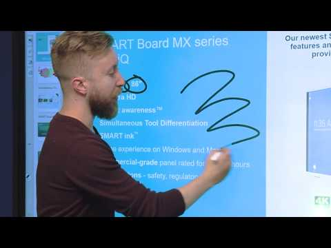 Introducing the SMART Board MX series