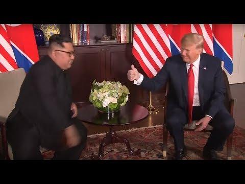 Trump - Kim Meeting: When Donald Trump gives a