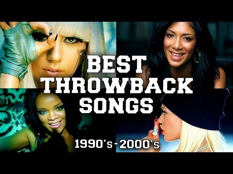 Top 100 Best Throwback Songs of the 1990's - 2000's