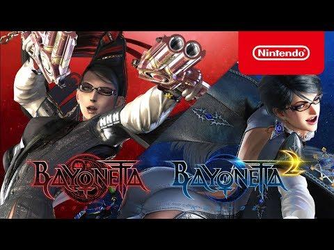Bayonetta 1 & 2 : vidéo de gameplay sur Switch de Bayonetta