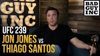 UFC 239: Jon Jones  Vs Thiago Santos