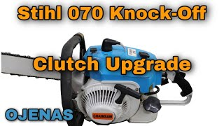 Stihl 070 Chinese Knock-Off Chainsaw Clutch Upgrade (OJENAS)