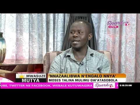Mwasuze Mutya: Wuuno omuvubuka eyazalibwa n'engalo ennya