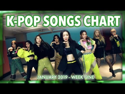 K-POP SONGS CHART | JANUARY 2019 (WEEK 1)