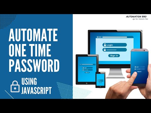 Automate One Time Password (OTP) using JavaScript