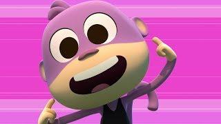Esta es la Historia de un Mono - Las Canciones del  Zoo 4 | El Reino Infantil
