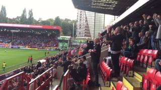 Charlton Athletic Foam Pig Protest October 2016