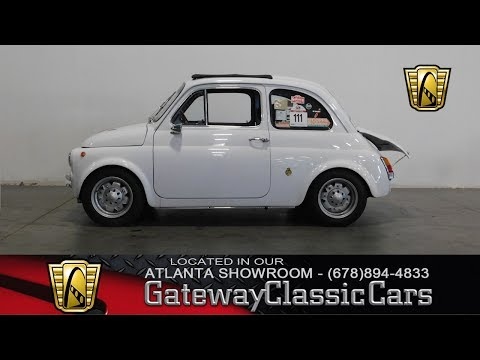 Video of Classic 1970 Fiat Abarth located in Alpharetta Georgia - L44S