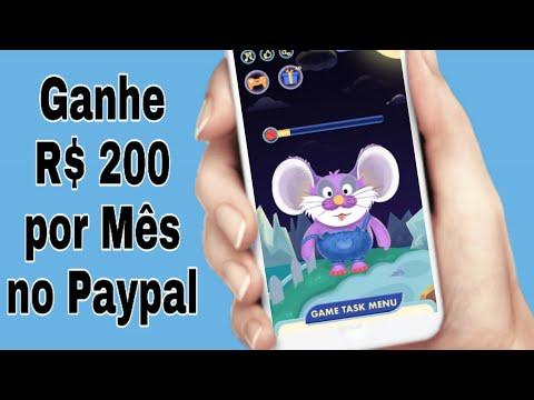 Ganhe R$200! Novo Aplicativo para Ganhar Dinheiro no Paypal Clicando (Money no paypal)