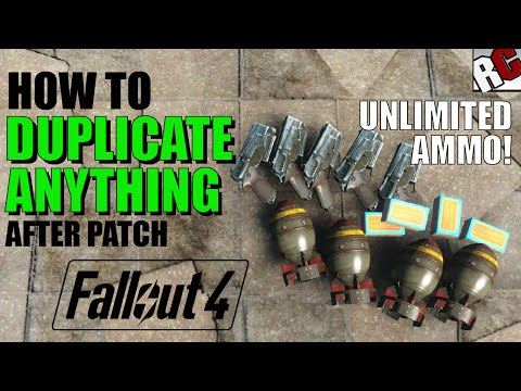 Fallout 4 | How to Get Unlimited Ammo AFTER PATCH! - Dogmeat Duplication Exploit (Fallout 4 Exploit)