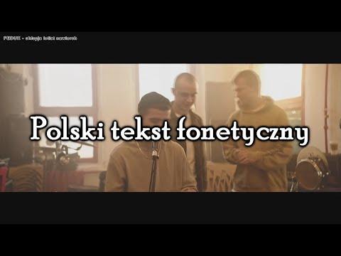Feduk- chlopja letiat nawierch/хлопья летят наверх. Polski tekst fonetyczny, lyrics, romantic 2018