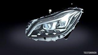 Mercedes-Benz Multibeam LED headlights