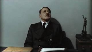 Günsche informs Hitler that Günsche is Fegelein