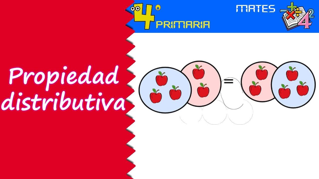 Matemáticas. 4º Primaria. Tema 3. Propiedad distributiva