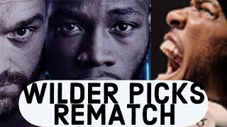 DEONTAY WILDER PICKS REMATCH OVER ANTHONY JOSHUA + 300K+ PPV BUYS EXPECTED