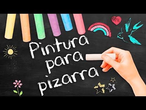 HAZ PINTURA PARA PIZARRA ❤️ FACIL SOLO 3 INGREDIENTES - Tutoriales Belen