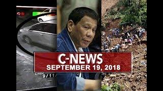 UNTV: C-News (September 19, 2018)