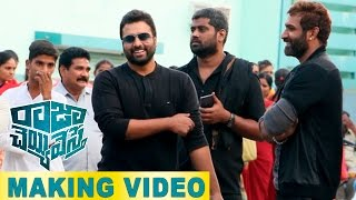 Raja Cheyyi Vesthe Movie Making