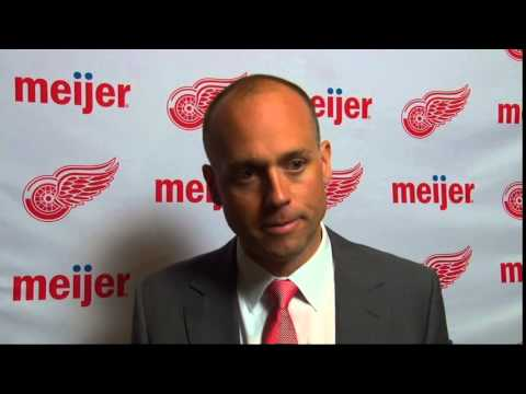 One on One interview with Jeff Blashill