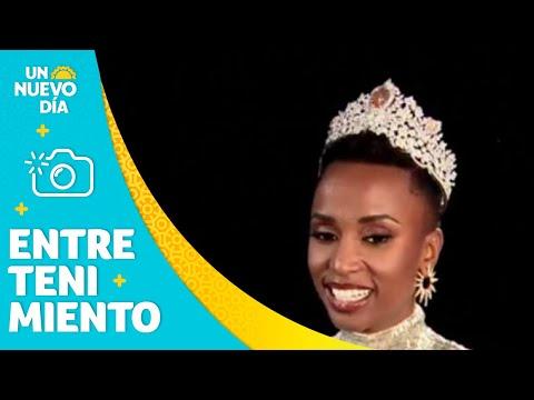 La nueva Miss universo 2019 cree en el poder femenino | Un Nuevo Día | Telemundo