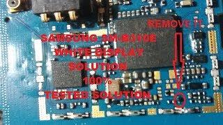 samsung sm-b313ed display white solution - Free Online