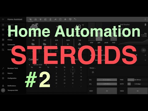 Home Automation on 'STEROIDS' : Video Walkthrough