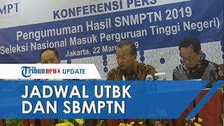 Kemdikbud Rilis Jadwal UTBK dan SBMPTN, Ini Jumlah Kuota PTN 2020