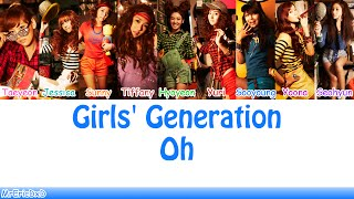 Girls' Generation (소녀시대): Oh! (오!) Lyrics