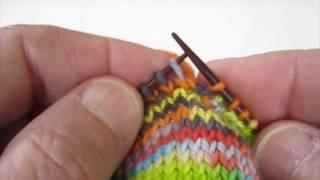 Eliminating Holes in Knitting Socks