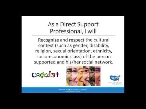 NADSP Code of Ethics Webinar Series: Respect - YouTube