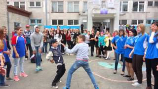 День города Южно - Сахалинск. Dance batle.Школа 22