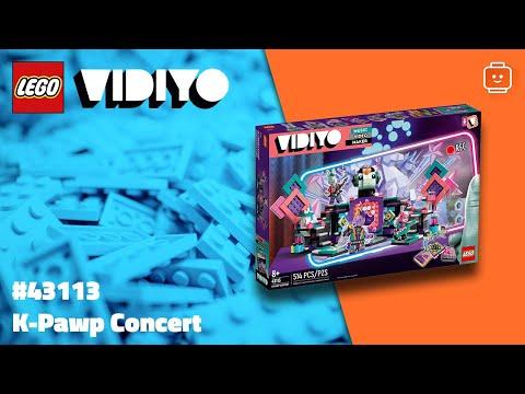 Vidéo LEGO VIDIYO 43113 : K-Pawp Concert