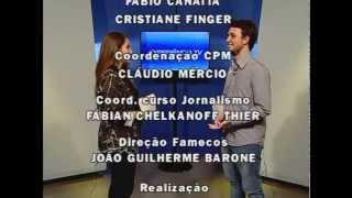 Telejornalismo II 2015/1 -  JORNAL EXPERIÊNCIA