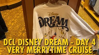 Disney Dream Day at Sea, Palo Brunch, Merchandise & More | Disney Cruise Line | Day 4