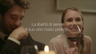 Coravin Italie commercial