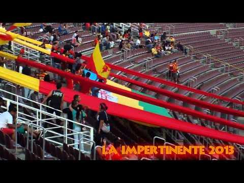 """""""Somos la banda loca del majestuoso"""" Barra: La Impertinente • Club: Anzoátegui"""
