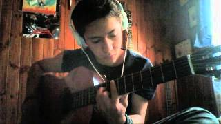 Seasons - Dragonforce Acoustic version - Cover JavierTHB