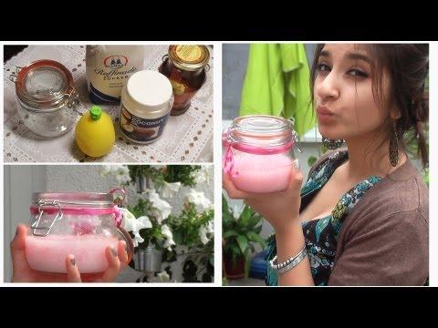 DIY ZUCKER SCRUB für Körper und Gesicht | Sanny Kaur