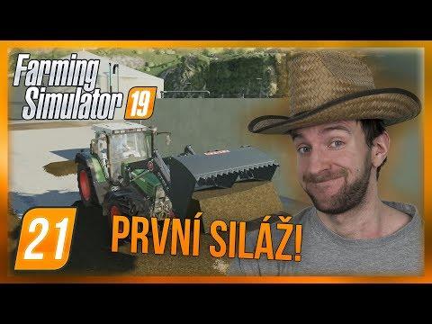 PRVNÍ SILÁŽ! | Farming Simulator 19 #21